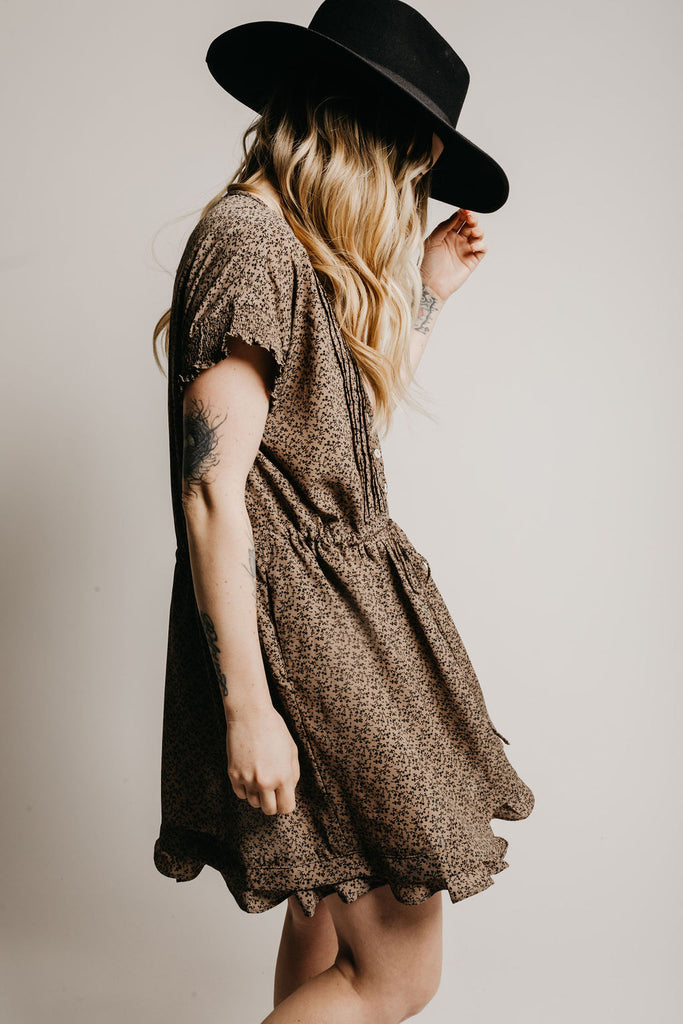 Waverly Dress - Stone