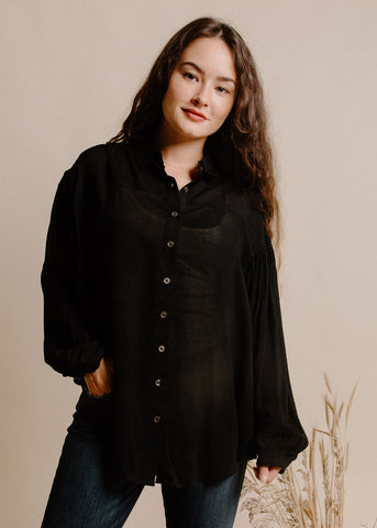Wendell Blouse- Black