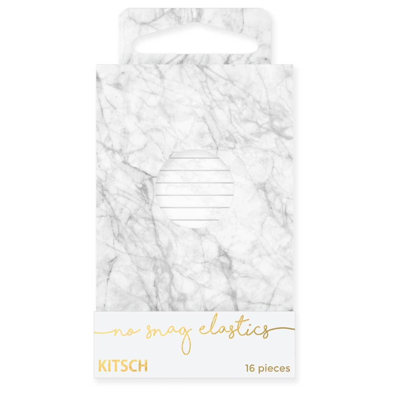 Matchbook Elastics - White Marble