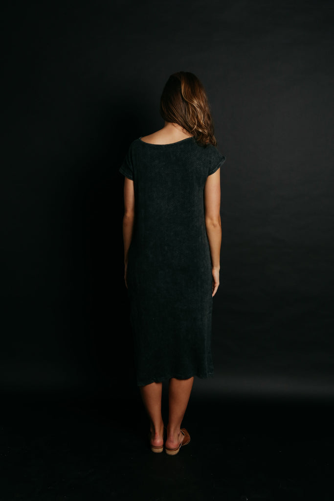 Wren Midi Dress - Black