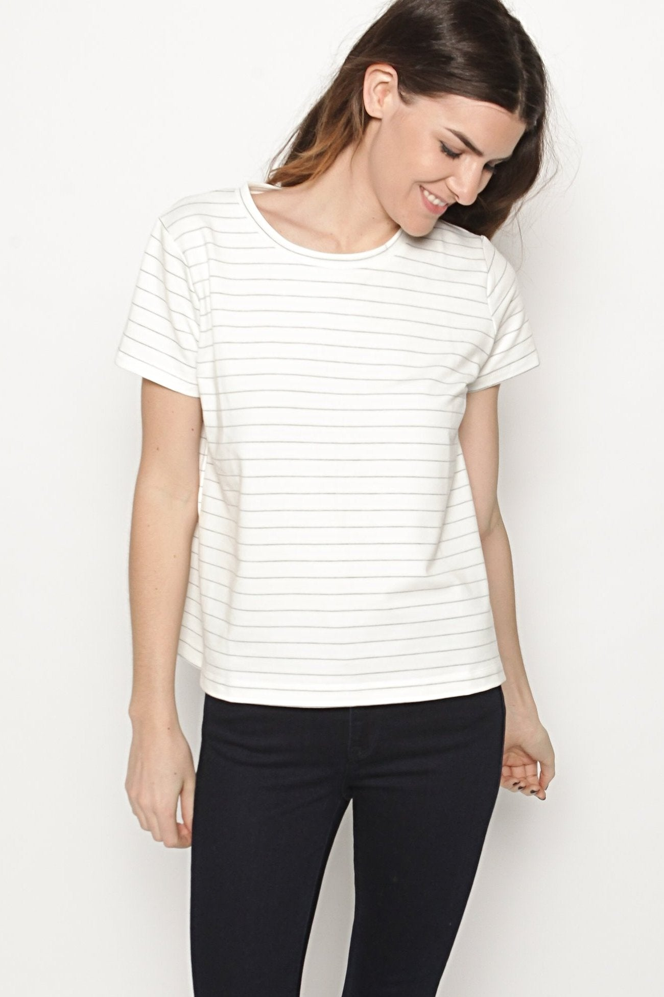Wren Striped Tee