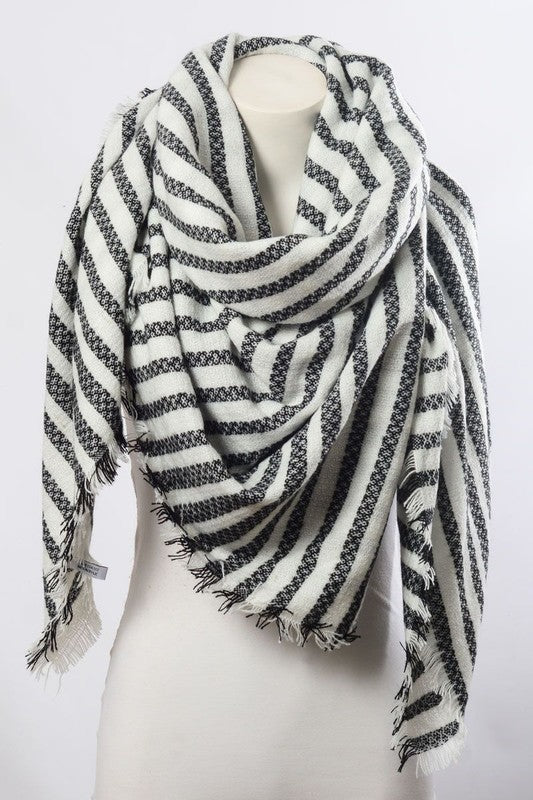 Beatrice Scarf - Black