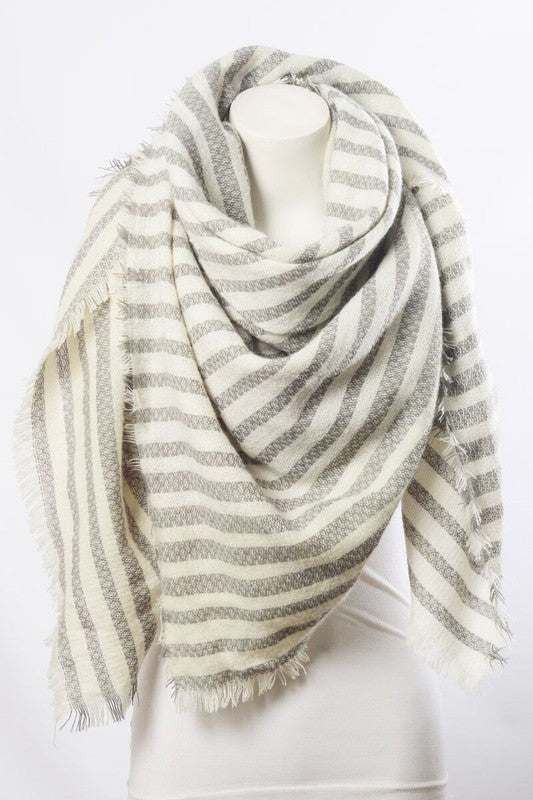 Beatrice Scarf - Grey