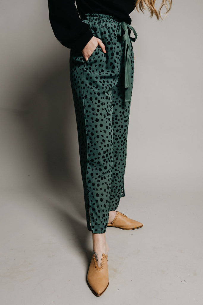Zaire Pants - Emerald