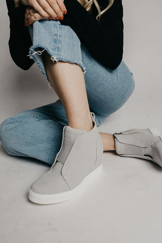 Zoey Sneakers - Light Grey