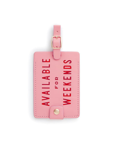 POS Luggage Tag, Available For Weekends Accessories - Vinnie Louise