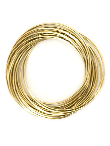 Connected Bangle Set - Gold