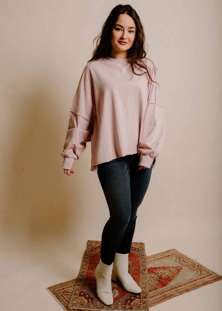 Everson Sweater - Blush