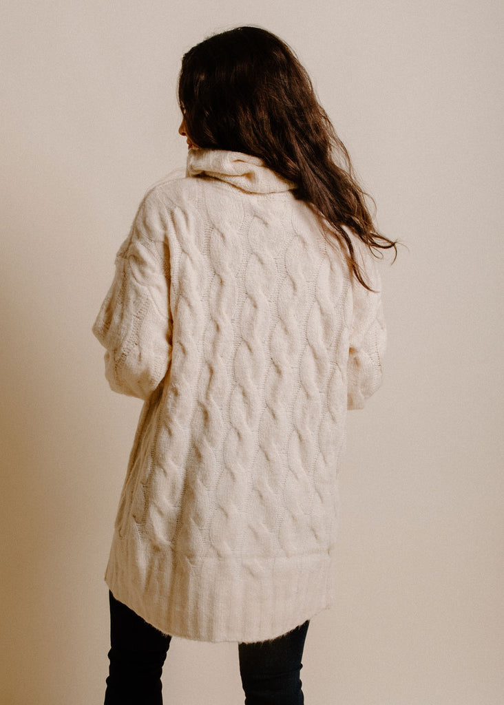 Rosewater Sweater - Cream