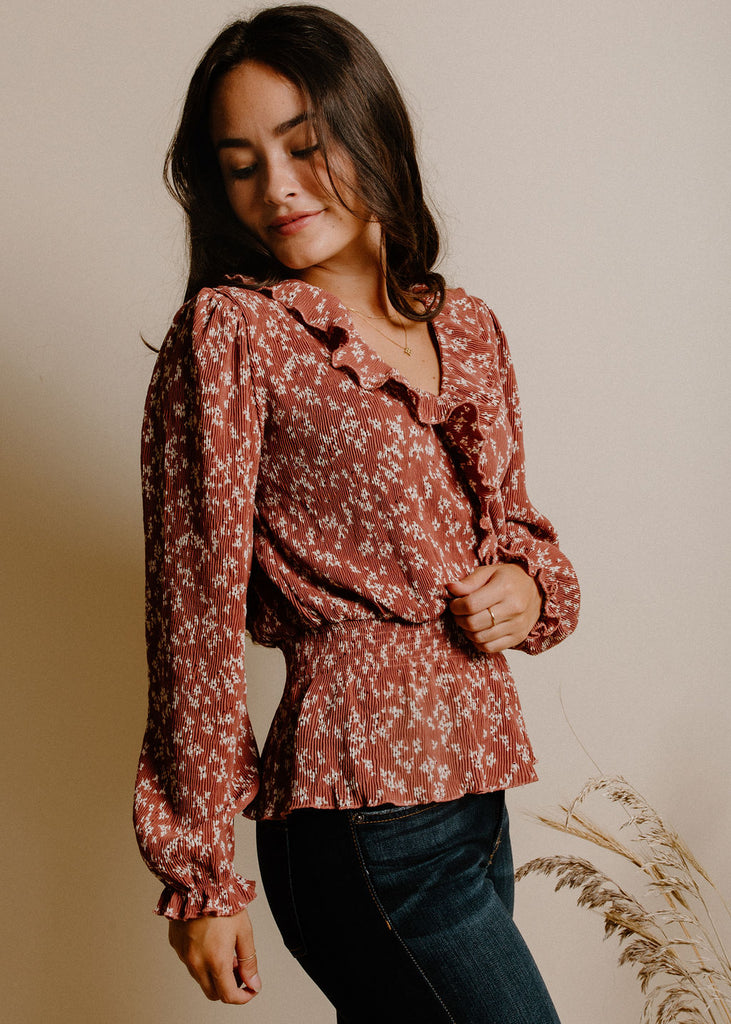 Rachel Blouse - Dusty Rose