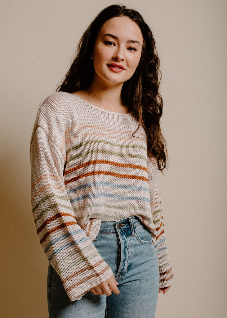 Emmy Knit Sweater - Cream