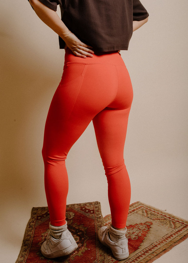 Riki Leggings - Red