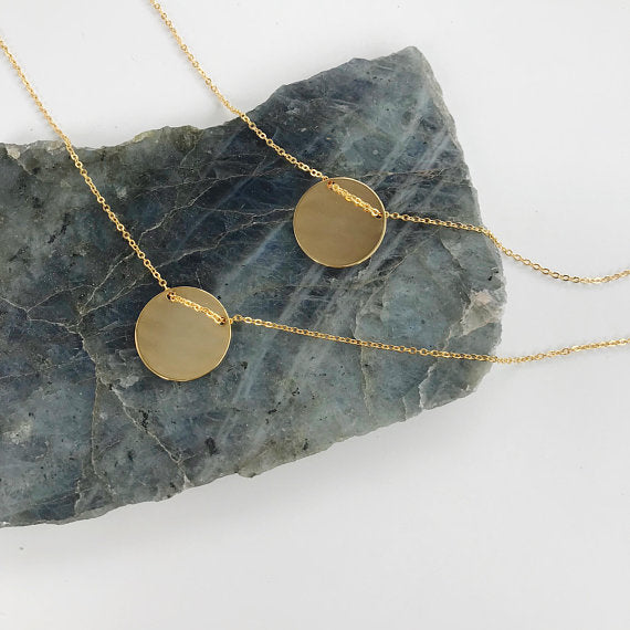 Chloe Coin Necklace