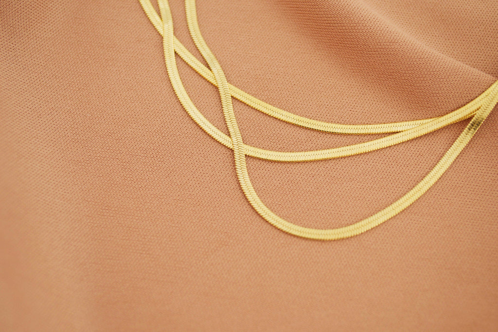 Thin Layering Chain Necklace