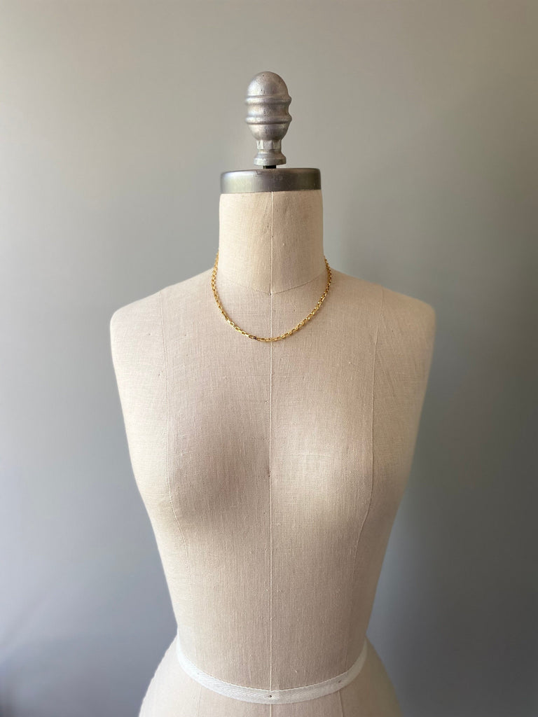 Box Chain Choker - small