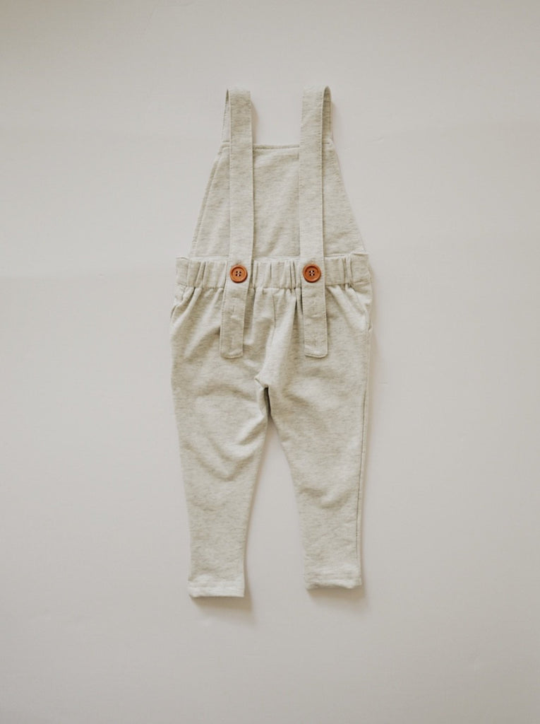 Long Overalls - Ivory