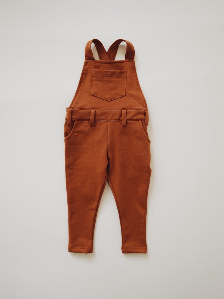 Long Overalls - Rust