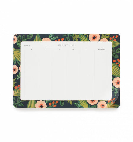 Rifle Paper Co - Jardin Weekly Desk Pad