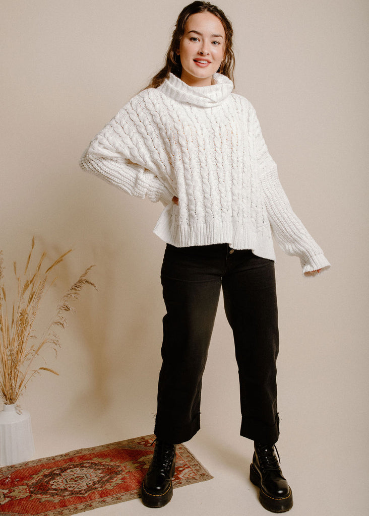 Lorelei Sweater - Ivory