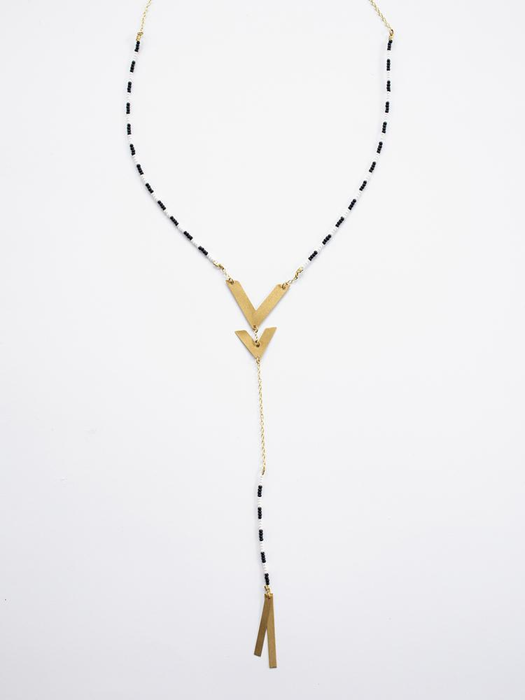 Manali Necklace - Gold