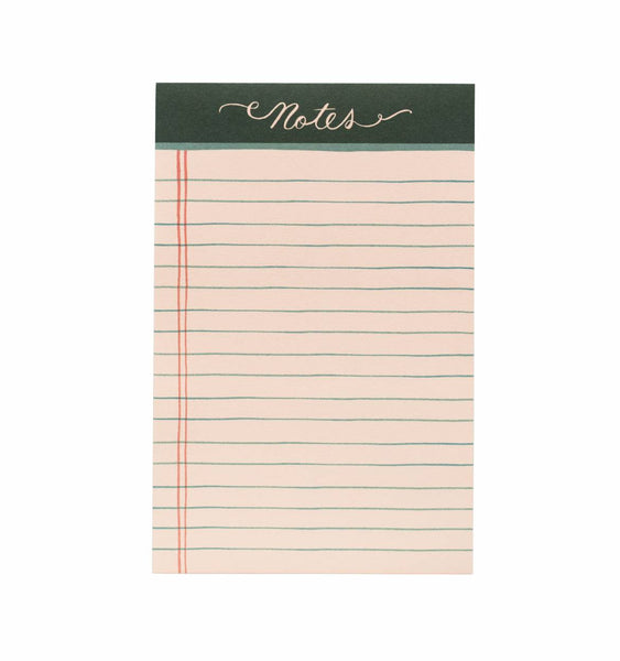 Rifle Paper Co - Rose Lined Notepad - Vinnie Louise