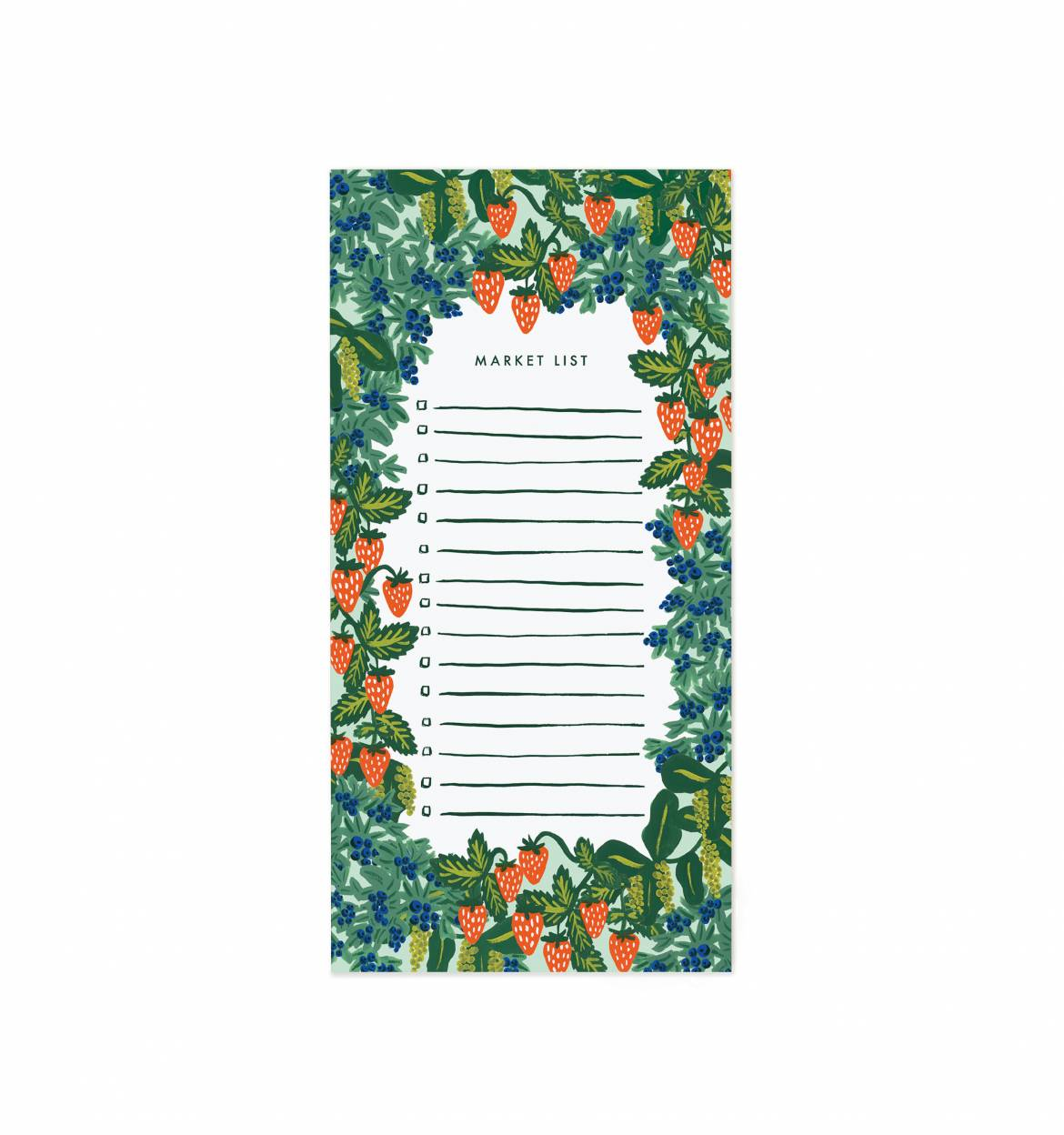Rifle Paper Co - Strawberry Fields Notepad Paper Goods - Vinnie Louise