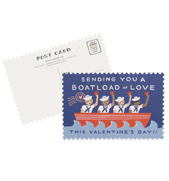 Rifle Paper Co - Boatload of Love Postcards - Vinnie Louise