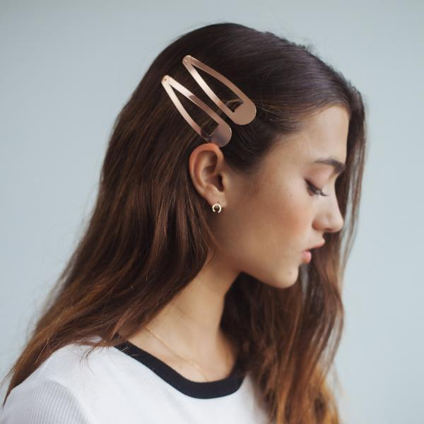 Snap Clips XL - Rose Gold