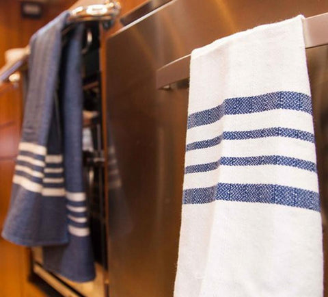 Kitchen Towels - Aegean White