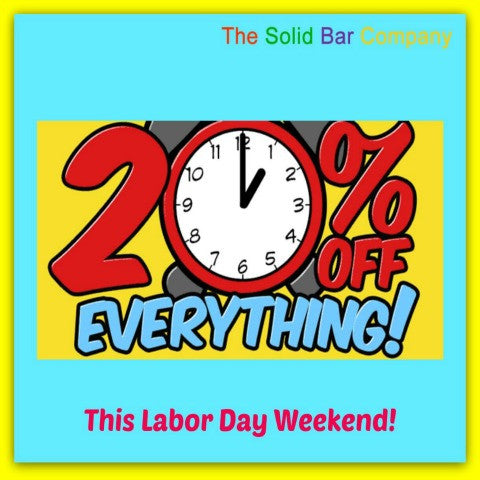 Celebrate Labor Day With This Great 20% Off Weekend Offer!