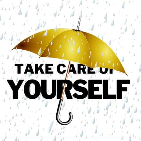 Umbrella Take Care Of Yourself