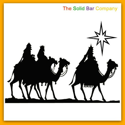 The Three Wise Men from The Solid Bar Company