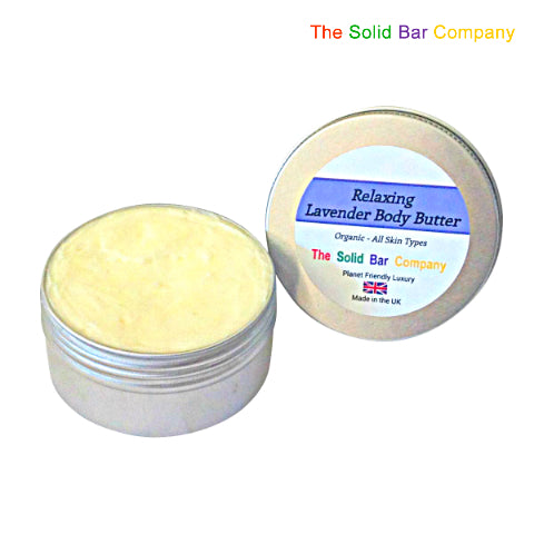 Lavender Body Butter at The Solid Bar Company