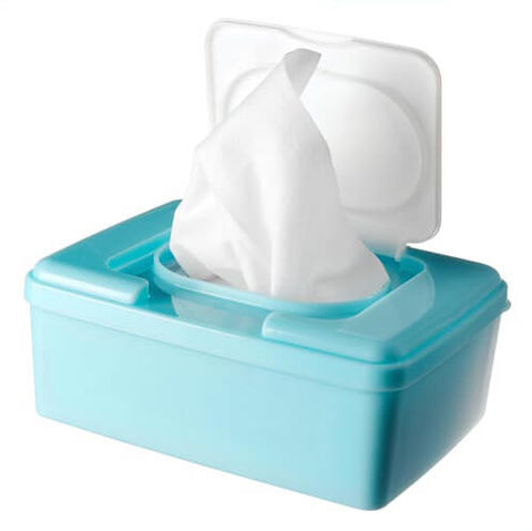 Wet Wipe and plastic container