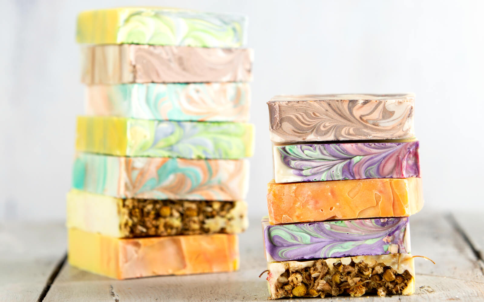 Luxury hand made naturally scented castile palm free soaps
