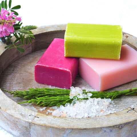 Three soap bars