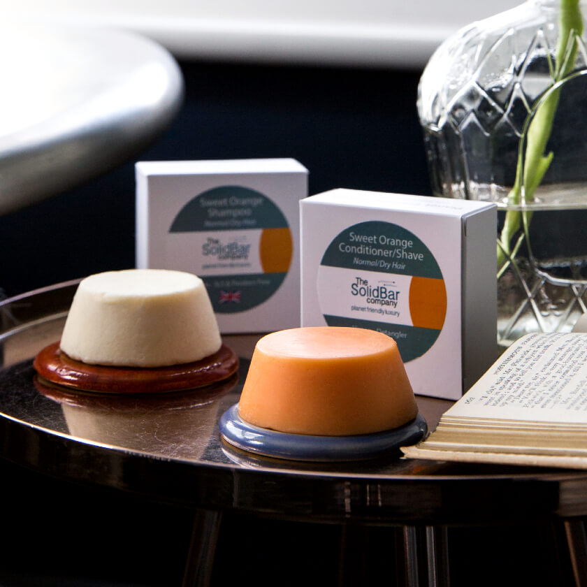 Two Hair Shampoo and Conditioner Bars