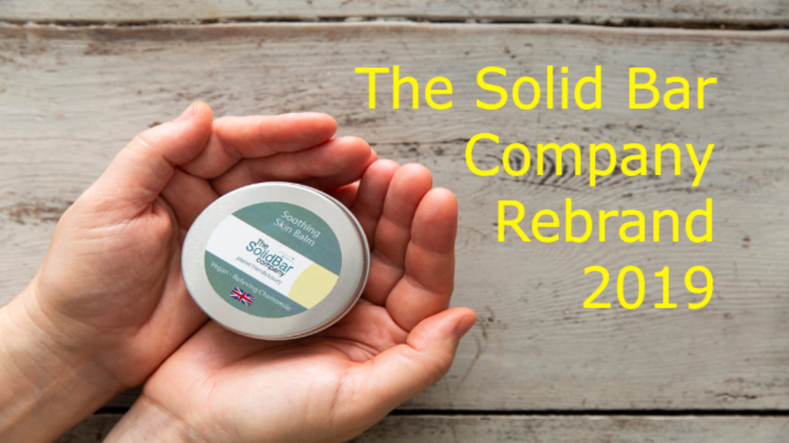 The Solid Bar Company Rebrand 2019