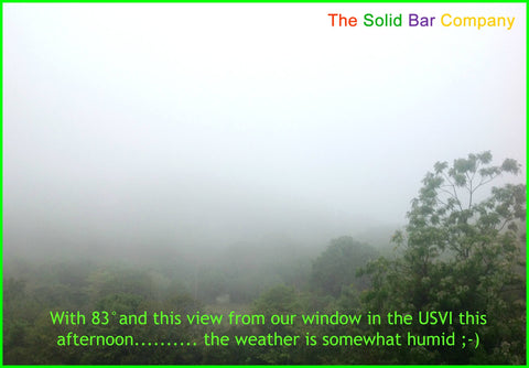 High humidity in the USVI