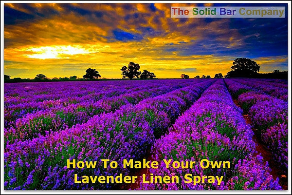 755 - Free Recipe & Video for Lavender Linen Spray - The Solid Bar Company