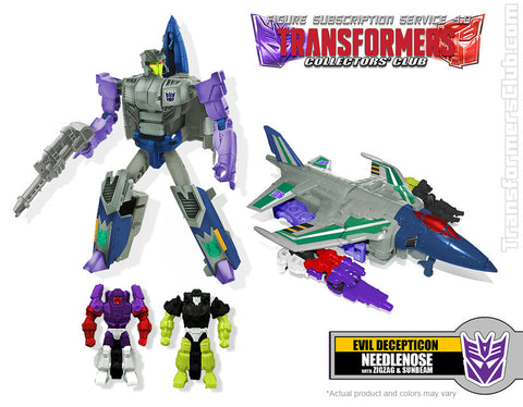 Transformers Collectors Club TFCC 4.0 Needlenose - ScrambleCore Toy Store