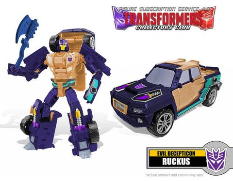 Transformers Collectors Club TFCC 4.0 Ruckus - ScrambleCore Toy Store