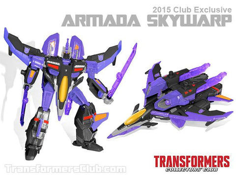 Transformers Collectors Club TFCC 4.0 Armada Skywarp - ScrambleCore Toy Store