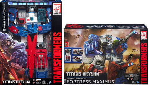 Transformers SDCC Titans Return Fortress Maximus - SPECIAL COMBO - ScrambleCore Toy Store  - 12
