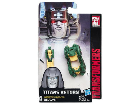 Transformers Titans Returns Titanmaster Brawn - ScrambleCore Toy Store  - 1