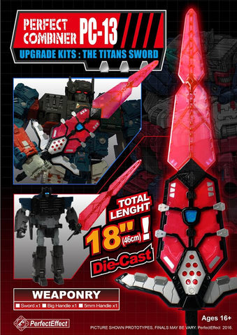 PC-13 The Titans Sword - ScrambleCore Toy Store  - 1