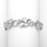 Sybil Exquisite Multi Shape CZ Bracelet