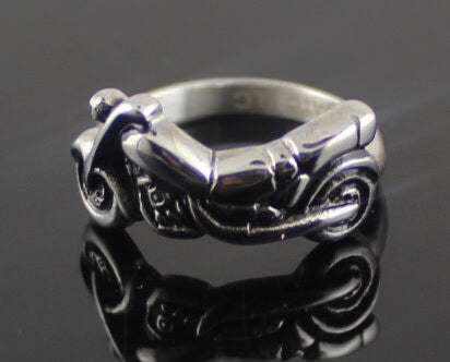 Motorcycle Ring in Stainless Steel