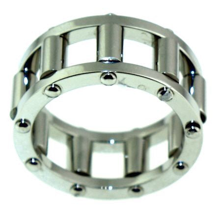 Roller Ring in Stainless Steel Spins