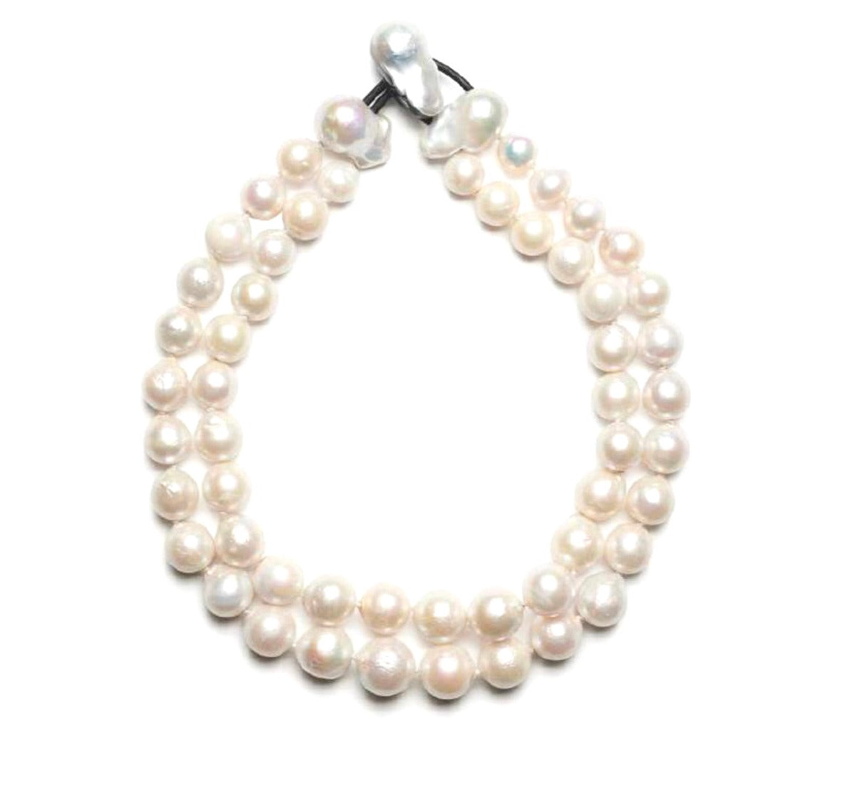 Double Strand Baroque Freshwater Pearls